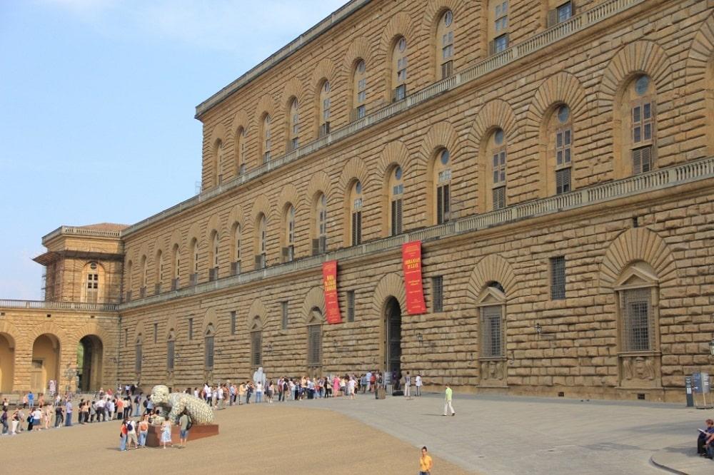 Архитектура Палаццо Питти