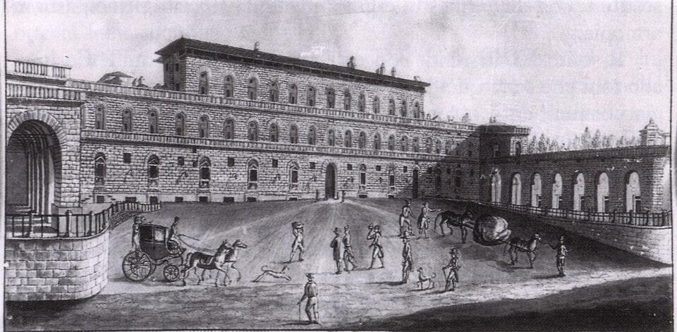Наброски дворца