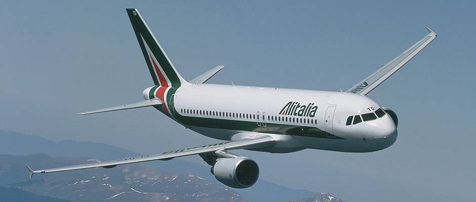 Самолет компании Alitalia