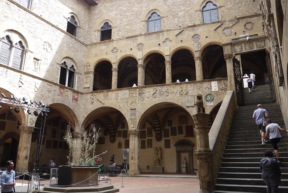 Внутренний двор музея
