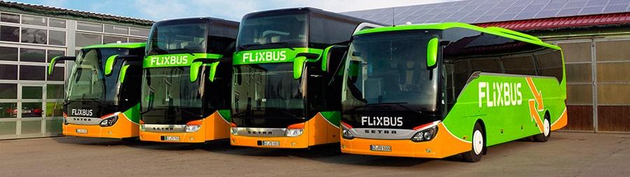 Автобусы Flixbus