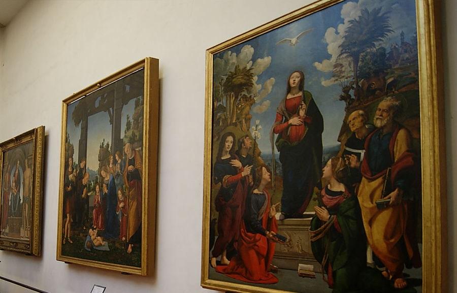 Картины в галерее Уффици