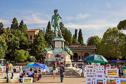Площадь Микеланджело во Флоренции