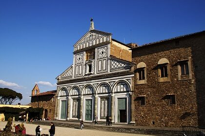 Церковь Сан-Миниато-аль-Монте во Флоренции