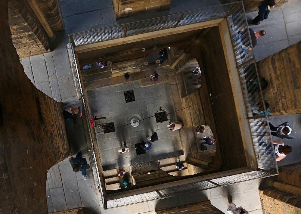 Внутри колокольни Джотто