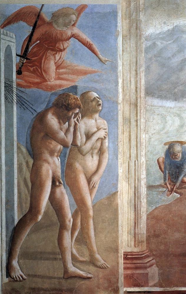 Изгнание из рая Адама и Евы