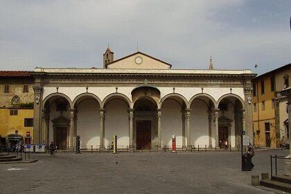 Церковь Сантиссима-Аннунциата во Флоренции