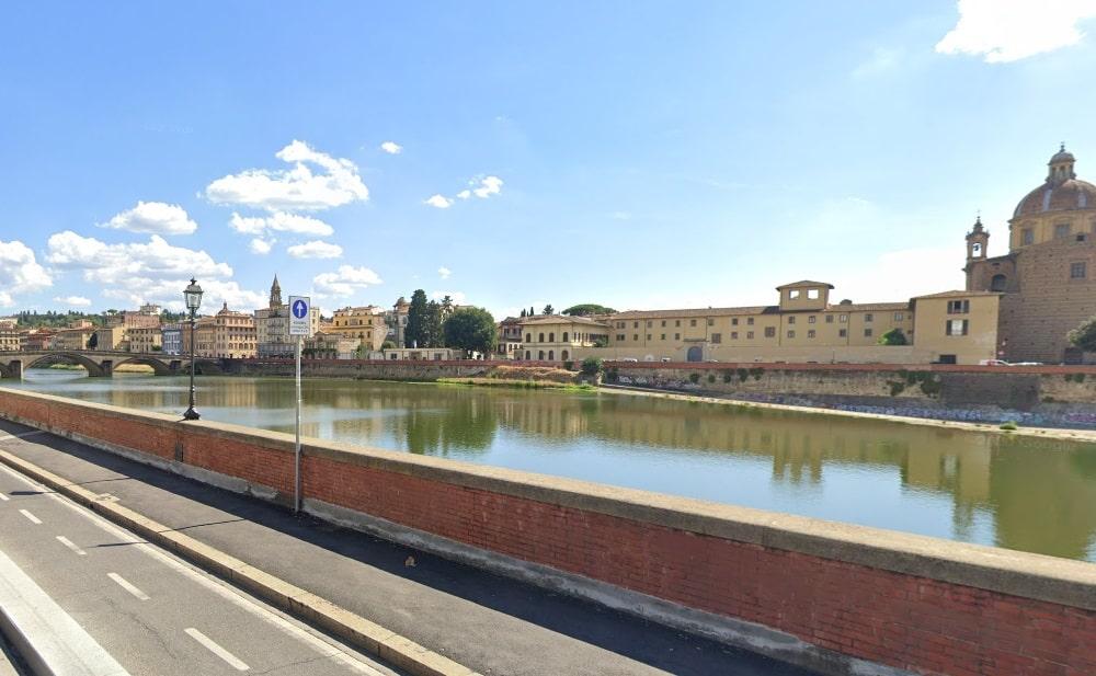 Вид на реку Арно