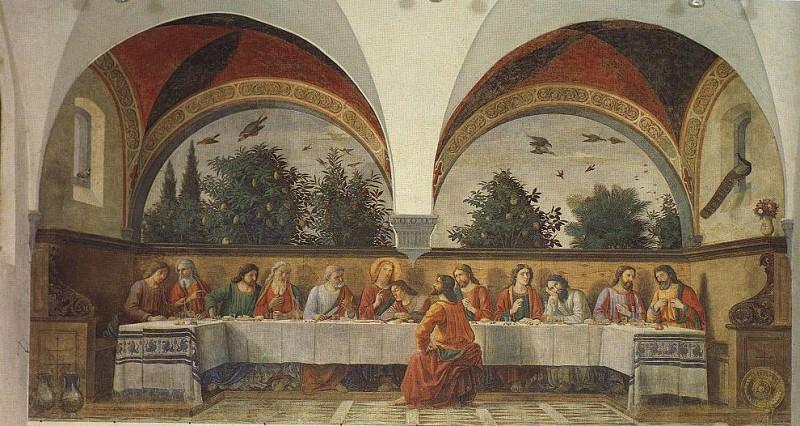 Фреска «Тайная вечеря»